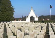 Le cimetière militaire portugais de la Première guerre mondiale