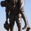 Monument Cobbers dédié aux «potes» Australiens