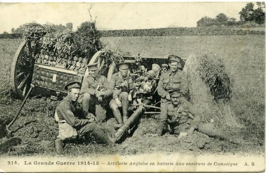 Compiègne, Bataille de la Marne 1914 Coll.-Musée-de-la-Grande-Guerre-du-Pays-de-Meaux, www.balades-historiques.com