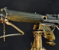 Mitrailleuse Vickers britannique, Coll. Musée de la Grande Guerre – Pays de Meaux, guerre de 14-18, christophe courau, www.balades-historiques.com