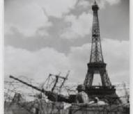 D.C.A.américaine, Place-de-Varsovie, libération de Paris, août 1944, Christophe Courau, www.balades-historiques.com