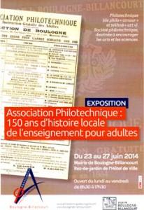 éducation populaire, boulogne billancourt, association philotechnique, christophe courau, www.balades-historiques.com