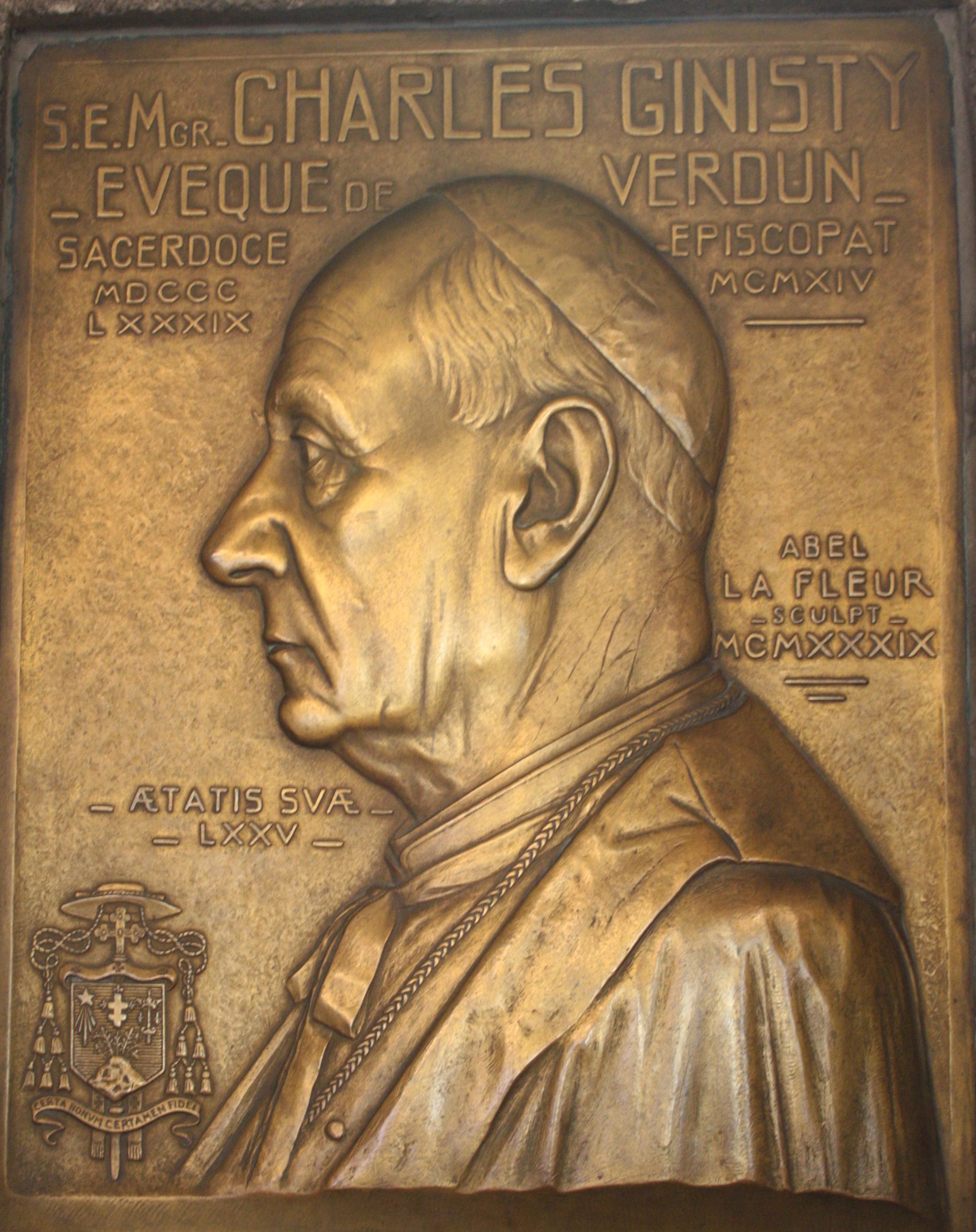 portrait ginisty, évêque de Verdun, ossuaire de Douaumont, ©Christophe Courau, www.balades-historiques.com, balade historique