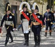 Parade d'uniformes chamarrés au Jubilé Impérial de Rueil-Malmaison. Photo ©Eric Beracassat