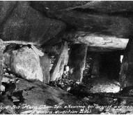 découverte hougue bie, 1924, 1925, Jersey, megalithe, balade historique, www.balades-historiques.com