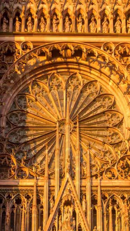 Cathédrale, Strasbourg. balade historique, www.balade-historiques.com, millénaire