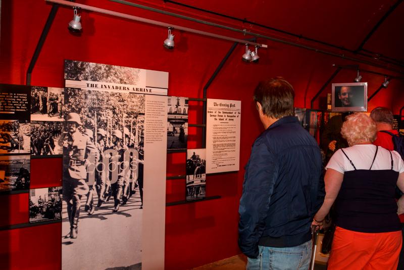 Jersey war tunnel, Jersey island, occupy jersey, occupation de Jersey, anglo-normande, Eric Beracassat, balade historique, www.balades-historiques.com