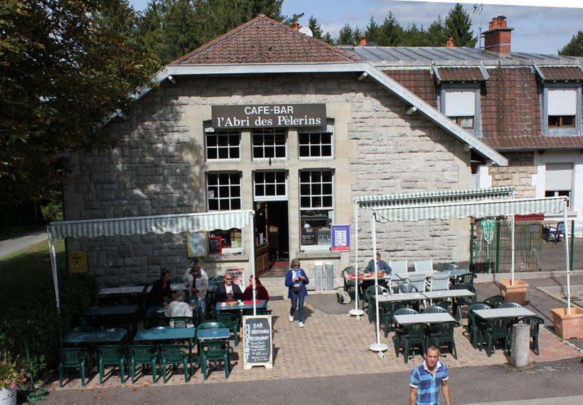 abri du pèlerin, Douaumont, restaurant bar, balade historique, www.baladeshistoriques.com. ossuaire de Douaumont