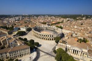 arenes de Nimes, romain, Gard, Nîmes, balade historique, www.balades-historiques.com, nîmes spectacle jeux romains