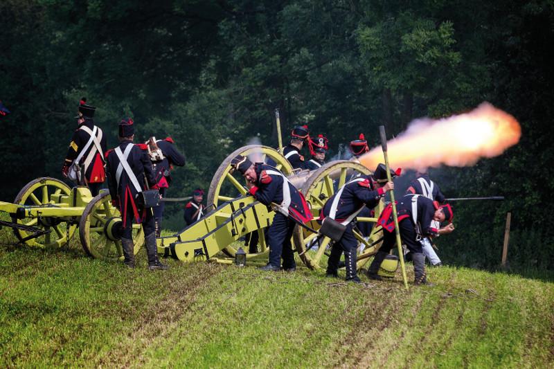 canon, napoleon, waterloo, guerre napoleonienne, bicentenaire de Waterloo, balade historique, www.balades-historiques.com