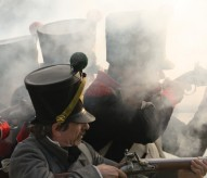 bataille de Waterloo, reconstitution, reconstitueurs, bicentenaire de Waterloo, balade historique, www.balades-historiques.com