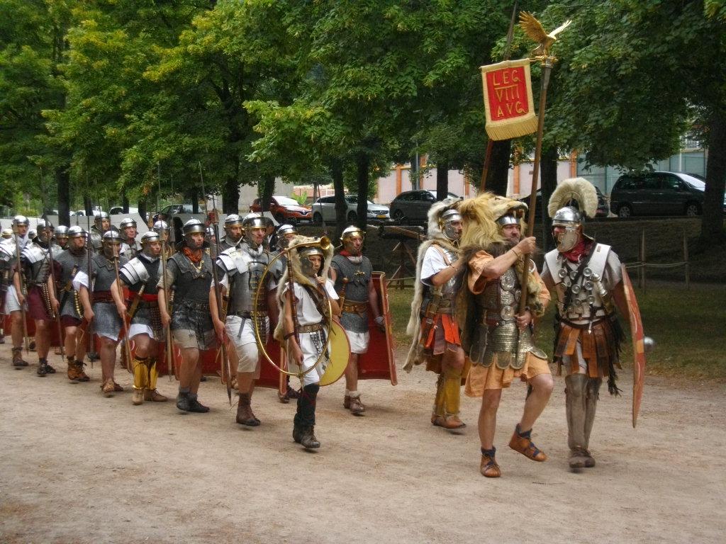 légion VIII Augusta, balade historique, www.baladeshistoriques.com