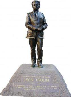 Leon Trulin, Lille 1915, statue balade historique, www.balades-historiques.com