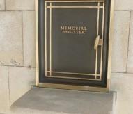 regisre cimetiere militaire britanique, balade historique. www.balades-historiques.com