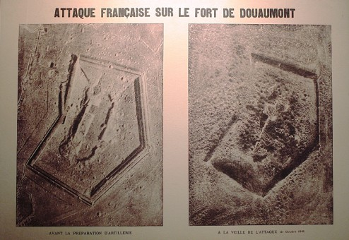 Fort de Douaumont, Verdun, 1916, bombardement Verdun, balade historique, www.balades-historiques.com