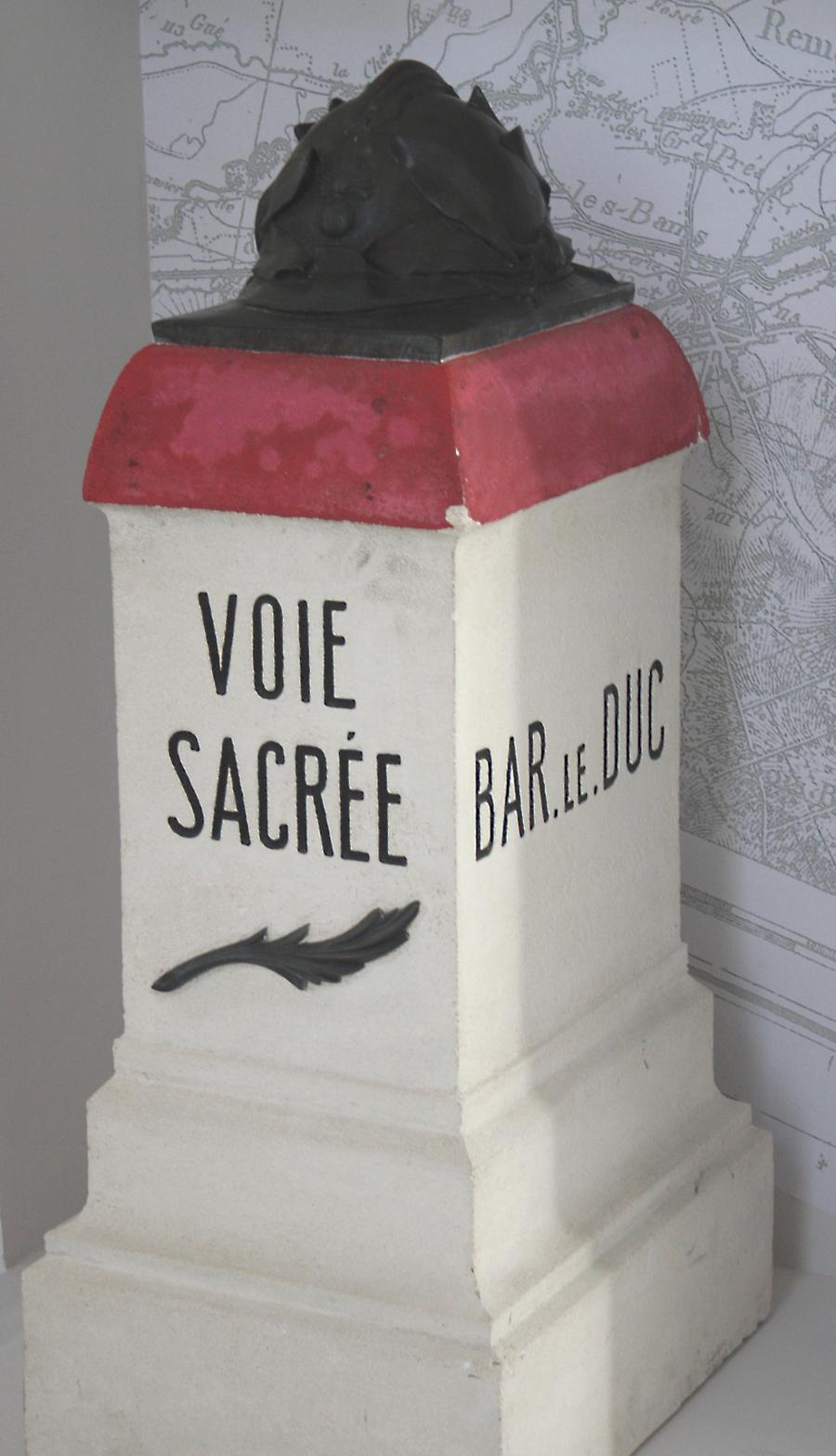 voie sacrée, borme kilométrique, Verdun, 1916, balade historique, www.balades-historiques.com