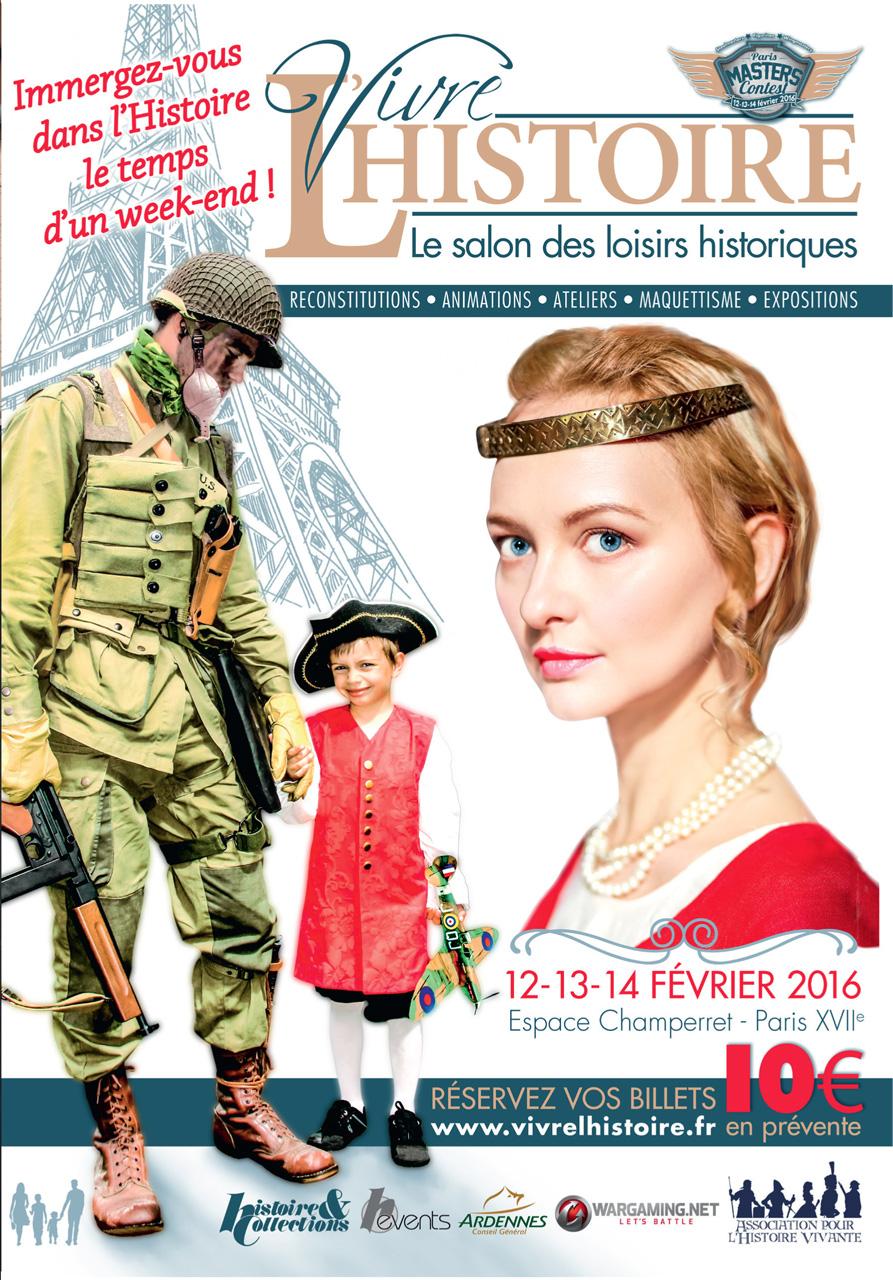 loisirs historiques, vivre l'Histoire salon 2016, balade historique, www.balades-historiques.com