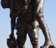 sergent Fraser, Monument Cobbers, Fromelles, premiere guerre mondiale, juillet 1916, balade historique, www.balades-historiques.com, christophe courau