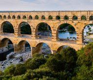 Pont du Gard, ouverture de canalisation, 2016, balade historique, www.balades-historiques.com