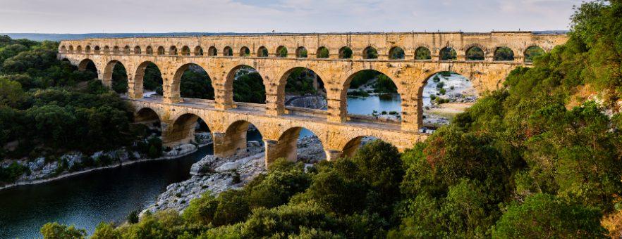 Traverser le Pont du Gard, ouverture de canalisation, 2016, balade historique, www.balades-historiques.com