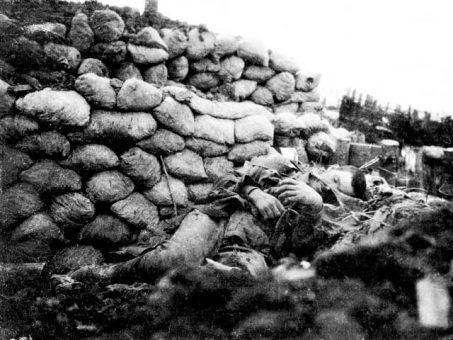 soldat autralien, fromelles, juillet 1916, monument Cobbers, balade historique, www.balades-historiques.com