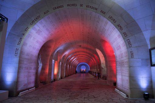 Meuse- Verdun - Centenaire de la Bataille de Verdun-Intérieur Ossuaire de Douaumont-Eric Beracassat