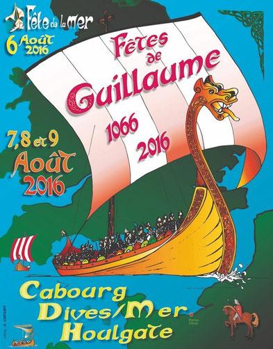 Dives-sur-Mer, Hougate, Cabourg, Fêtes médiévales, Guillaume le Conquérant, balade historique, www.balades-historiques.com