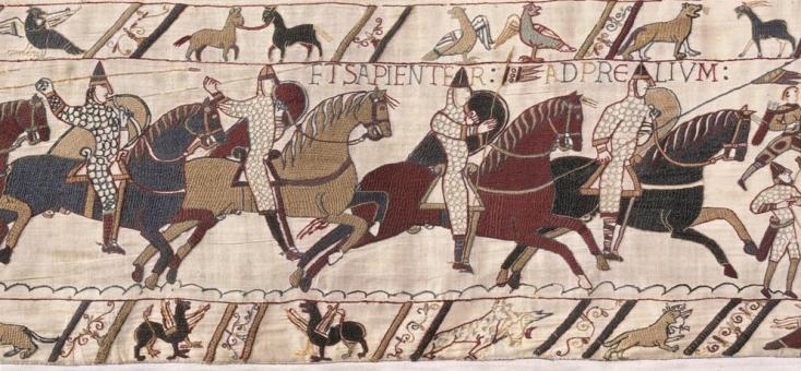 tapisserie de Bayeux, bayeux, guillaume le conquerant, balade historique, www.balades-historiques.com