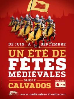 Fêtes médiévales Calvados, Guillaume le Conquérant, balade historique, www.balades-historiques.com