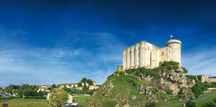 Château de Guillaume le Conquérant, Falaise, Moyen-Âge, balade historique, www.balades-historiques.com