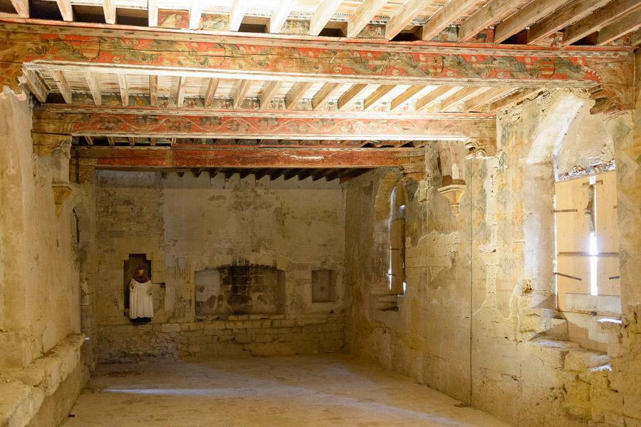 Eric Beracassat, capestang, chateau, plafonds peint, balade historique, www.baladeshistoriques.coms, canal du midi