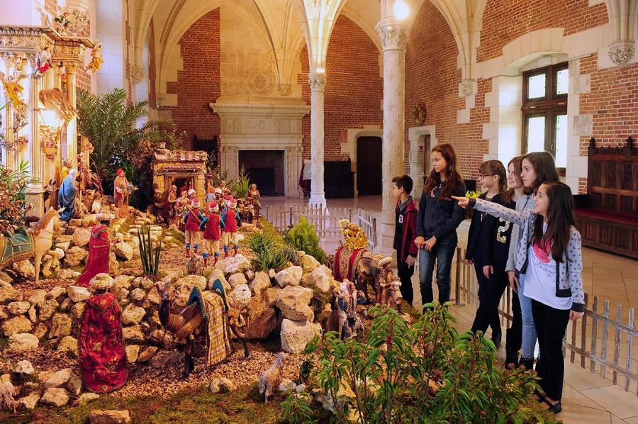 Amboise, château royal d'Amboise, Noël, Rois Mages, balade historique, www.balades-historiques.com