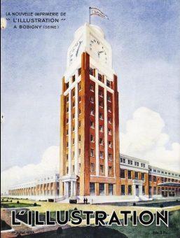 L'illustration, Tour, Bobigny, 1933, balade historique, balades historiques
