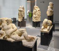 nimes sculpture romaine, musee de la romanité, Eric Beracassat, balades historiques