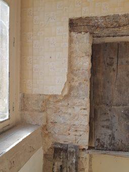 intérieur maison des Dragons, Cluny, balade historique