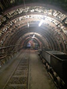 Mine de charbon, nine de blanzy, patrimoine industriel, galerie d'extraction, bourgogne, balade historique