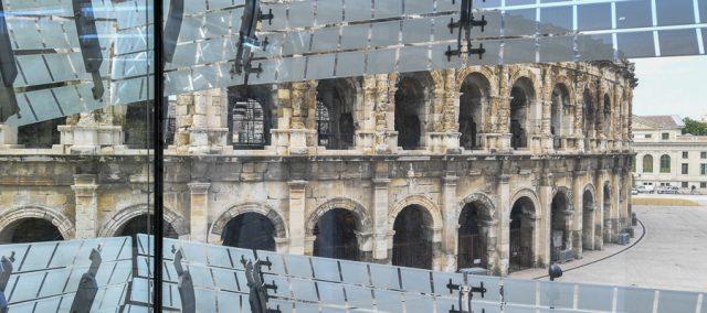 arenes de Nimes, musée de la Romanité, Nîmes, Empire Romain, Narbonnaise, Eric Beracassat, balades historiques